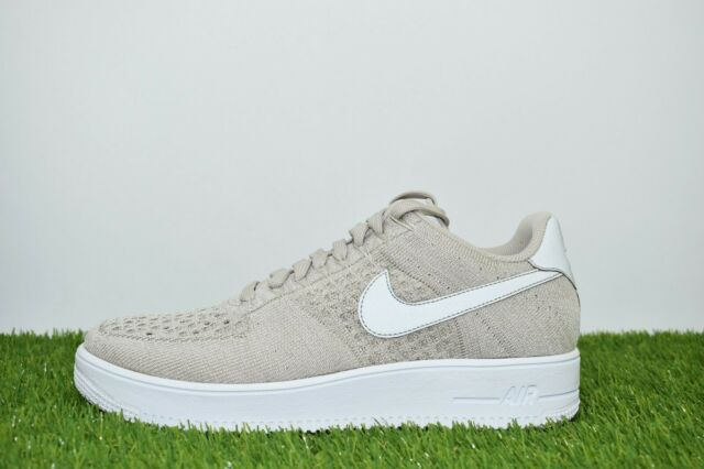 more photos a7d04 51fdf New Nike Air Force 1 Ultra Flyknit Low Size 10.5 Khaki Brown 817419 200