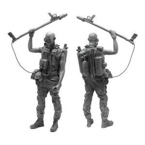 1-35-Soldier-Resin-Figure-Model-kit-U3Z8