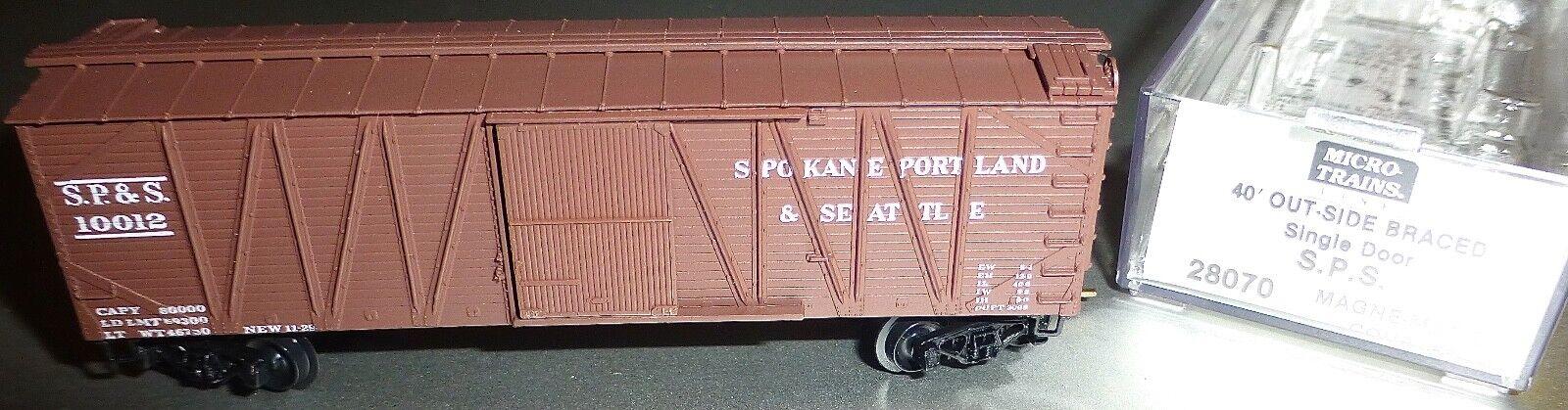 40 ´ Outside Braced BOXCAR S. P. S.10012 Micro Trains Line 28080 N 1 160 C Å