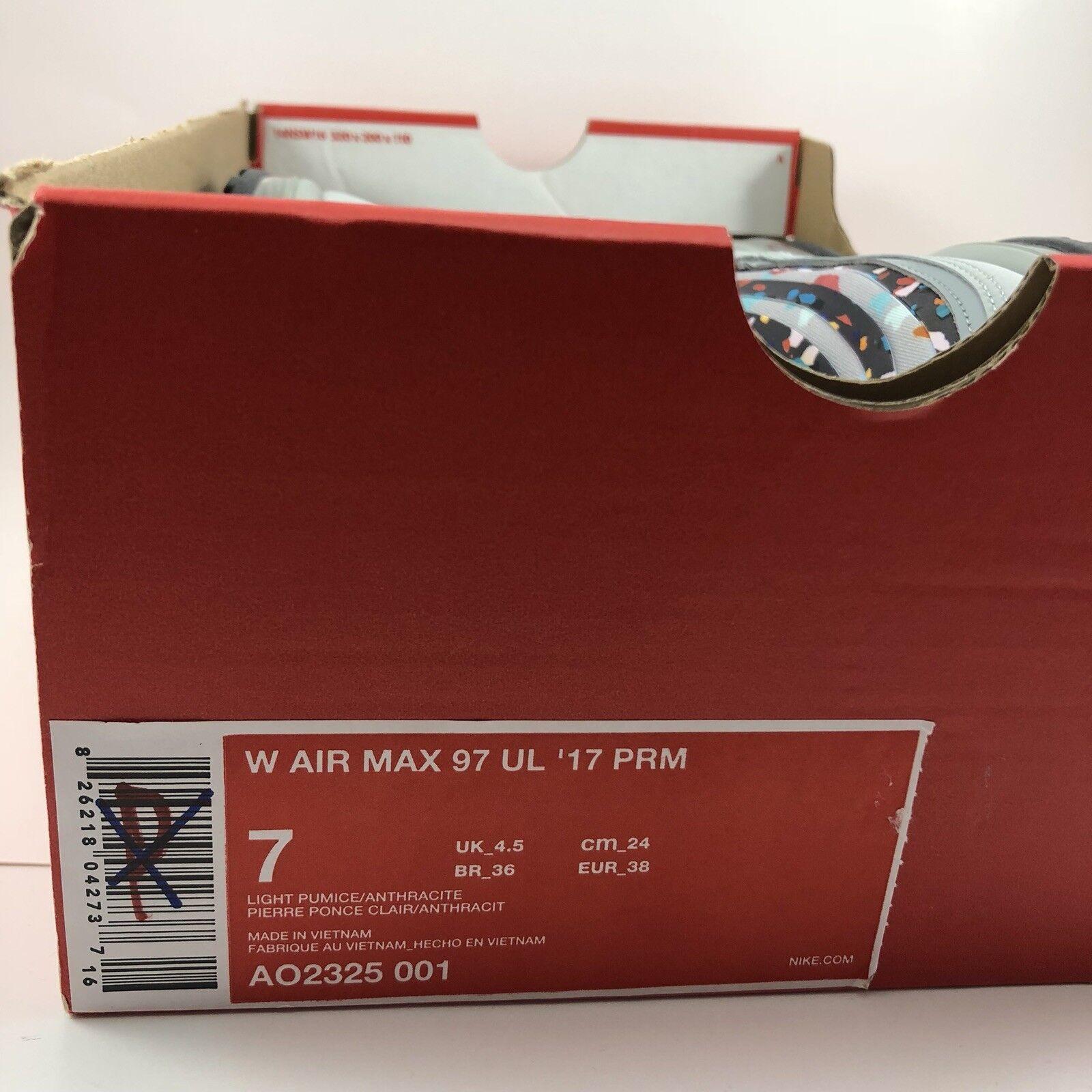 Nike Air Max Max Max 97 Ultra 2017 Premium Confetti donna Dimensione 7 (AO2325 001) 064bb3