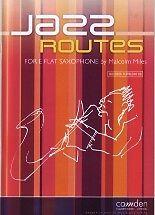 JAZZ ROUTES Eb Saxophone Alto Miles Book /& CD