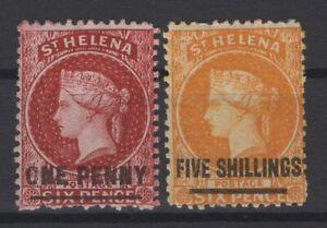 G129971-ST-HELENA-BRITISH-COLONY-SG-6-20-MINT-MH-CV-170