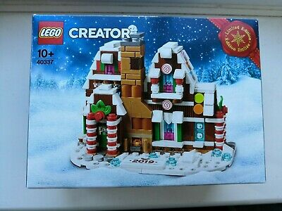 New 2019 LEGO Holiday Gingerbread House 40337 ~ 499 Pieces Limited Edition SET