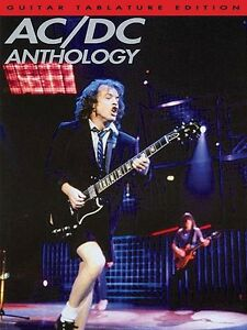 AC//DC Back in Black Guitar TAB Edition Music Book Angus Young