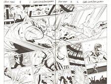 Iron Man #8 DPS - Tony Stark vs Death's Head in Trial by Combat art by Greg Land