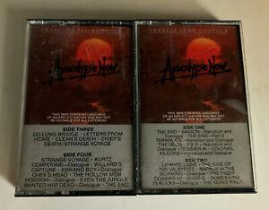 APOCOLYPSE-NOW-Movie-Soundtrack-2x-Cassette-Tapes-EX-RARE