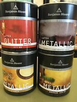 Ben Moore Studio Finishes Metallic Pearlescent White/gold/bronze/glitter Quart
