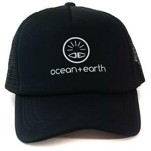 Ocean-amp-Earth-Ladies-Cali-Snapback-Trucker-Cap-In-Black