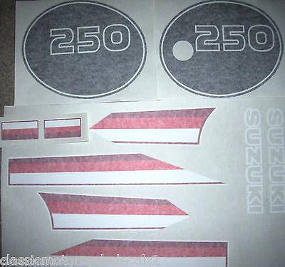Suzuki TS250ER Decal Kit