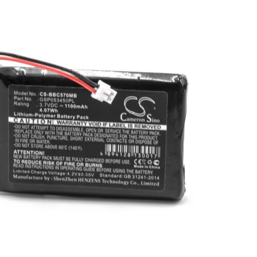 Akku für NeoNate BC-5700D 1100mAh 3.7V Li-Polymer