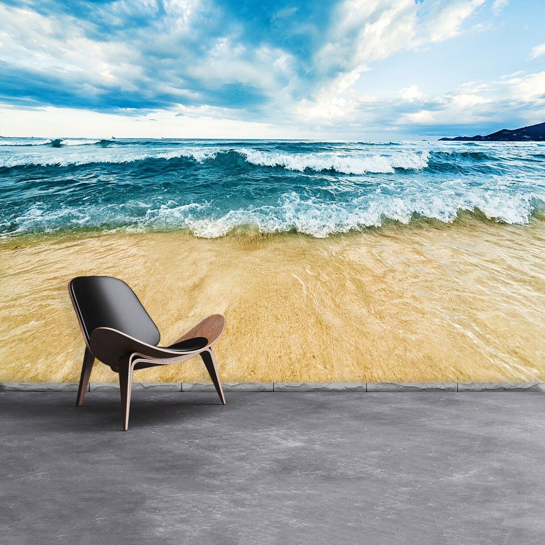 Fototapete Selbstklebend Einfach ablösbar Mehrfach klebbar Wellen