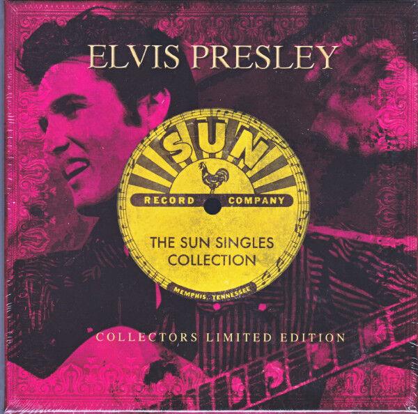 "Elvis Presley – The Sun Singles Collection 5x7"" Vinyl Singles BoxSet NEW/SEALED"