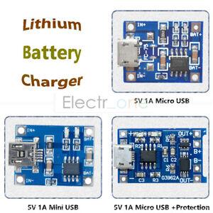 2-5-10PCS-TP4056-Mini-Micro-USB-18650-Lithium-Battery-Module-5V-1A-Charger-Board
