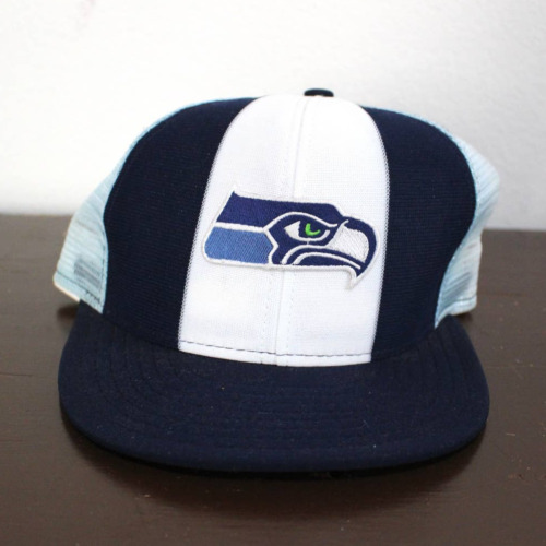 Vintage Seattle Seahawks Football NFL Snapback Hat