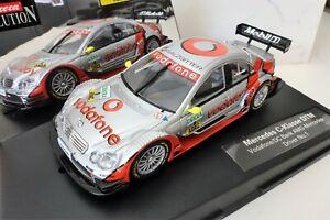 Carrera Evolution 25747 C-klasse Amg-mercedes Dtm Vodafone #1 1/32 Entièrement Neuf Dans Sa Boîte-afficher Le Titre D'origine En Quantité LimitéE