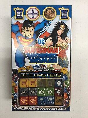 SUPERMAN WONDER WOMAN STARTER SET NEW DC Dice Masters