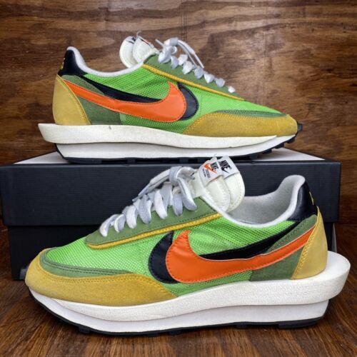 Nike Sacai Waffle Green Multi Size 10.5 Nike Sacai