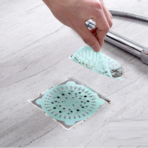 5 stücke Filtersiebe Einwegablass Aufkleber Haar Filter Bodenablauf