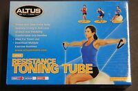 Altus Toning Tubes Light Resistance Purple Bands Purple Grip Handles