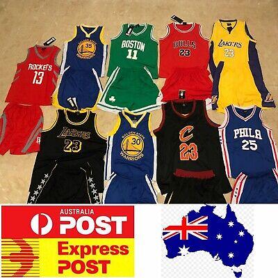 Kids Basketball jerseys set, Lakers, Golden State, Celtics