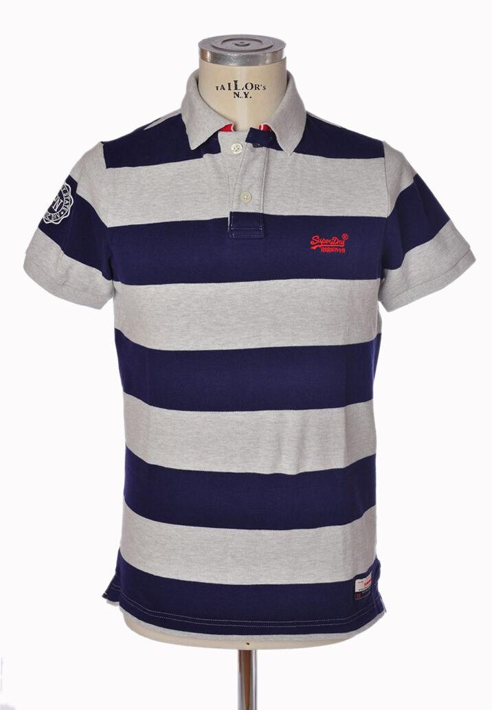 Superdry - Topwear-Polo - man - Blau - 300408D192704