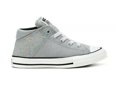 Converse Girls' Chuck Taylor All Star Madison Mid Galaxy Dust Sneakers Size US 1 | eBay
