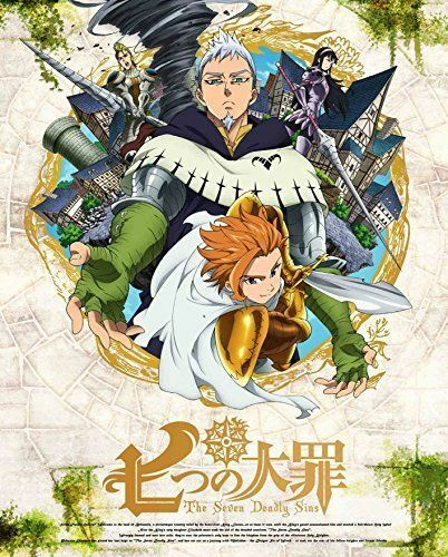 THE SEVEN DEADLY SINS (NANATSU NO TAIZAI) 6-JAPAN DVD+CD O23