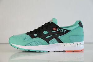 competitive price ed61c 1fd3a Details about Asics Gel-Lyte V Turquoise Black H607N 7790 10.5 glv mint  green