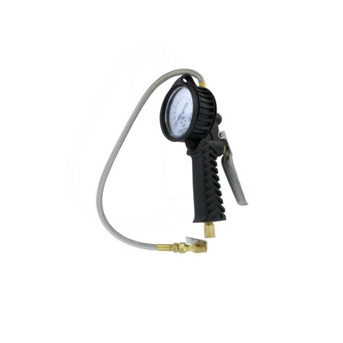 0-65 psi Astro Pneumatic Tool 3082 TPMS Dial Tire Inflator with Stainless Hose