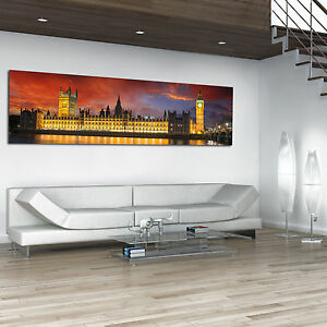 Stunning-Wide-Panoramic-Canvas-Print-Wall-Art-Choose-Your-Design