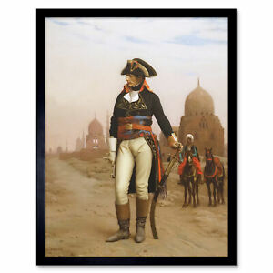 Gerome-Napoleon-Bonaparte-In-Egypt-Painting-Art-Print-Framed-12x16