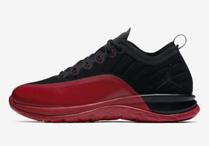 buy popular 388a9 c7429 Image is loading New-Jordan-Trainer-Prime-Black-Black-Gym-Red-