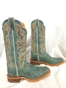 Justin Women's Boot Katia Turquoise 13