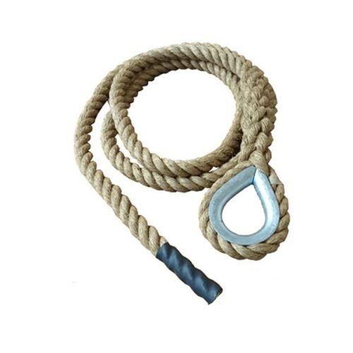 exercise rope 36mm Manila Gym Climbing Rope with Hard Eye climbing rope