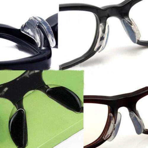 Pro praktische Brillen Silikon Soft Sonnenbrille Nasenpolster Anti-Rutsch DE