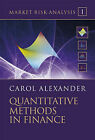 Market Risk Analysis: Quantitative Methods in Finance by Carol Alexander (Hardback, 2008)