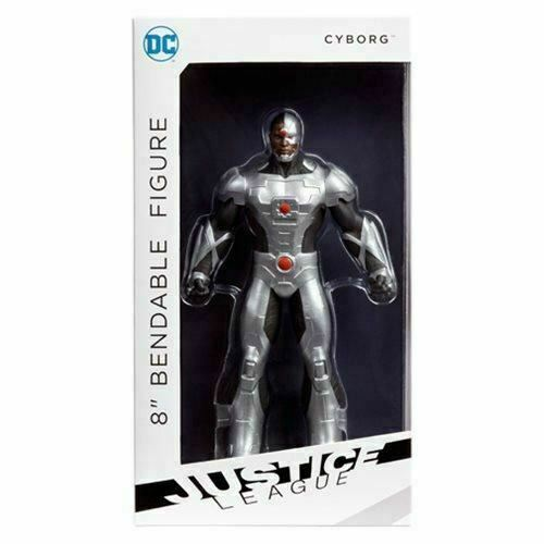 Justice League Cyborg 8-Inch Bendable Action Figure DC Comic