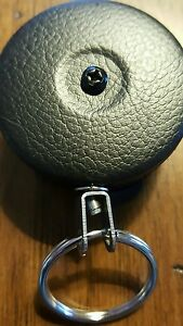 """Brand New KEY-BAK Original Retractable Reel with 48/"""" Stainless Steel Cable"""