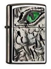 Zippo Crocodile Krokodil Eye Green limited Edition, limitiert 2004774 xxx/1000
