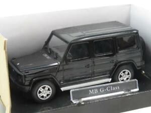 Cararama-Hongwell-Diecast-Mercedes-Benz-G-Class-Black-1-43-Scale-Boxed