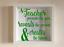 IKEA RIBBA Box Frame Personalised Vinyl Wall Art Quote Teachers reveal create