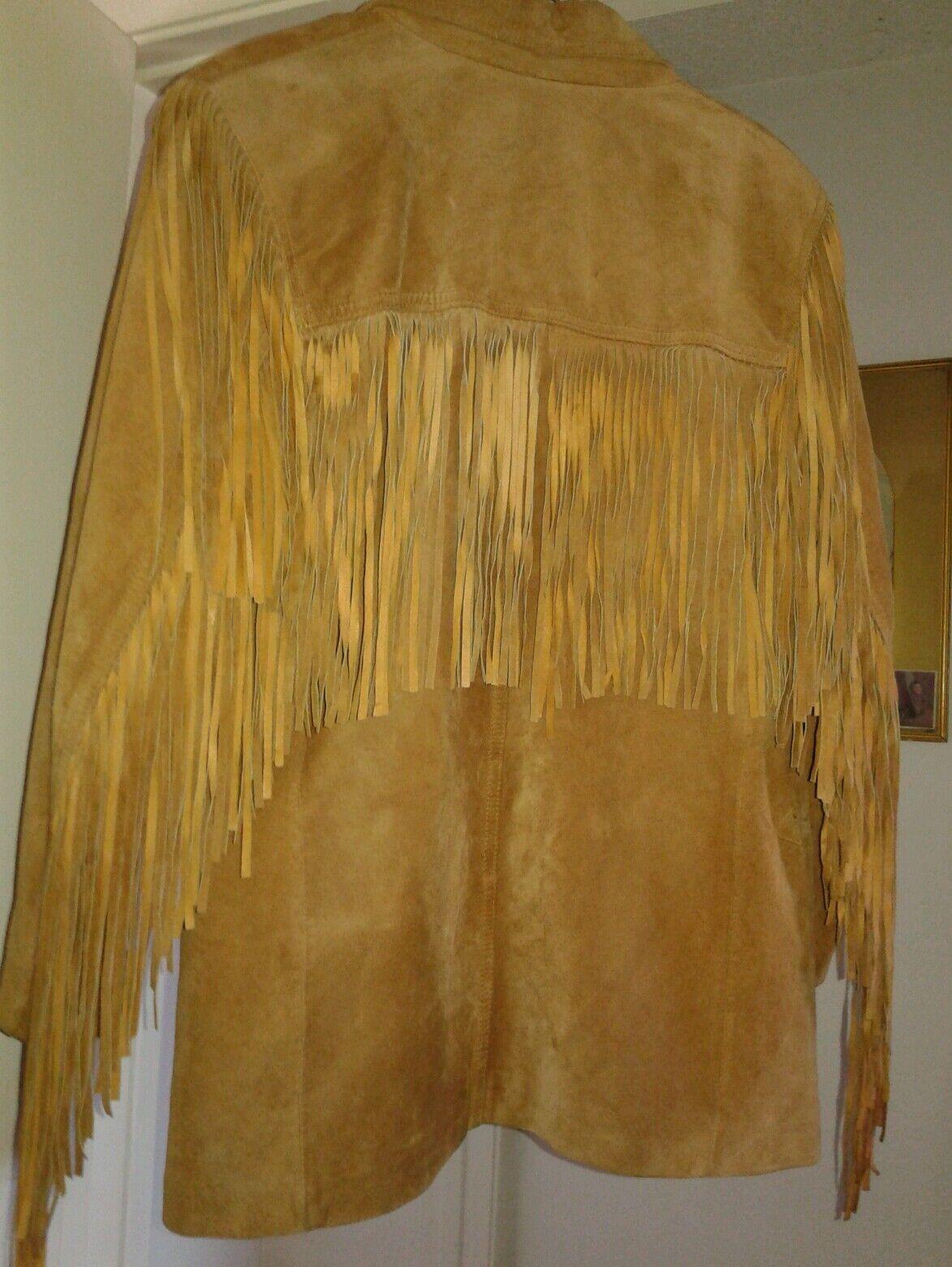 la nauicelle Renaissance Leather fringed Jacket - image 8