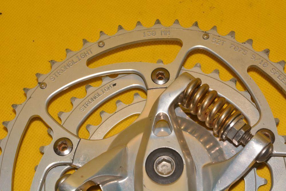 BIKEDRIVE suspension crankset 172,5mm    VGC      STRONGLIGHT   VERY RARE    733915