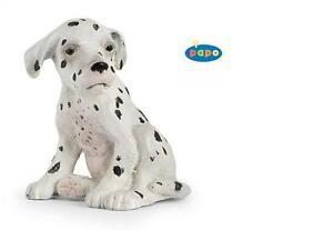 Toys & Hobbies Action Figures Trend Mark Dalmate Jeune Assis Chien 4 Cm Animaux De La Ferme Papo 54022