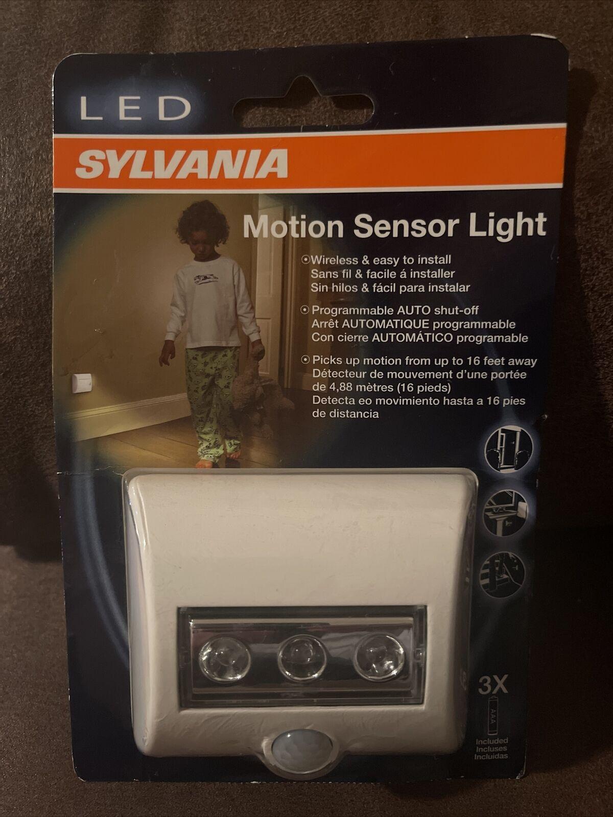 Sylvania Battery-Powered Motion Sensor LED Security Light 4-Pack