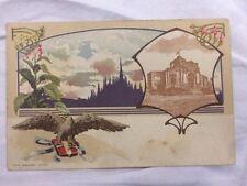 cartolina esposizione internazionale Milano 1906 Ministero Finanze 12/16