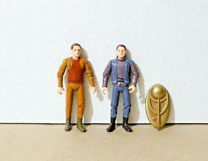 "VINTAGE Star Trek DS9 ODO (2) 4-5"" Toy / Action Figures - Playmates 1993 94 95"