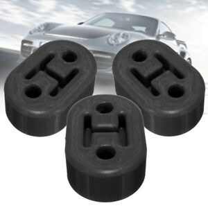 3PCS-Black-Universal-Upgraded-Heavy-Duty-Exhaust-Rubber-Hanger-Support-Mounts