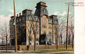 Orphan-Asylum-Elizabeth-New-Jersey-N-J-Early-Postcard-Unused