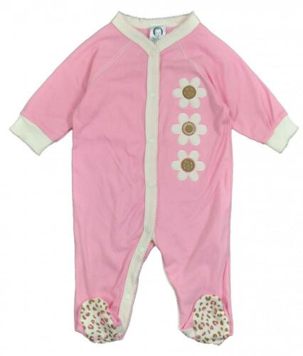 Gerber Infant Girls L//S Pink Coverall Size N//B 0//3M 3//6M 6//9M
